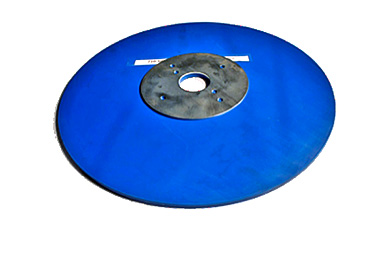 "Disc Brush Protector 16"" Rubber."